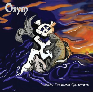 Oxym CD cover image - with lettering