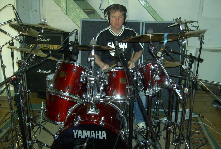 Photo - Mike in Studio Studio all 1