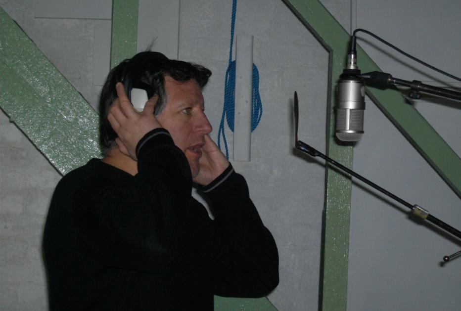 Photo - Pete in Studio Studio 1