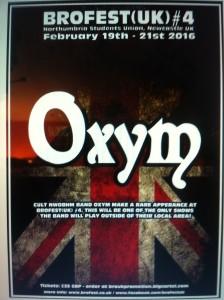 Poster Brofest - Oxym